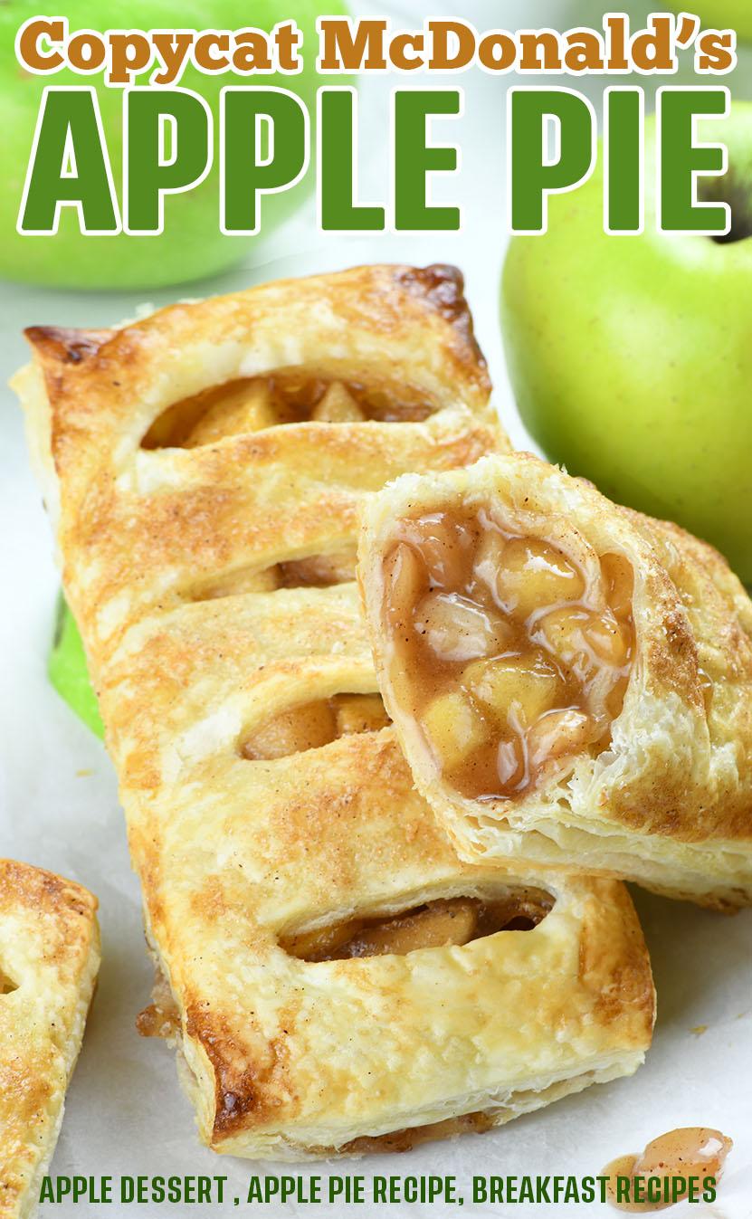 Copycat Mcdonald S Apple Pies Apple Pie Recipe Homemade Mini Apple Pie Recipe Easy Pie Recipes