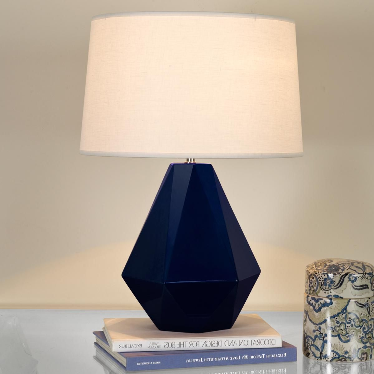 lighting and ceramics. Sizzling Colors Geometric Ceramic Table Lamp Lighting And Ceramics E