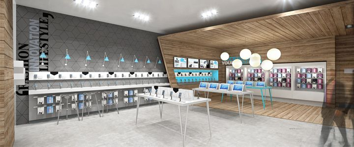 Hi Store Phone Accessories & Repair Service Shop Design to South ...