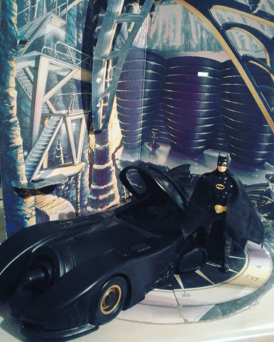 Batmobile In Batcave Batman Batmobile Batcave Batmancollectors