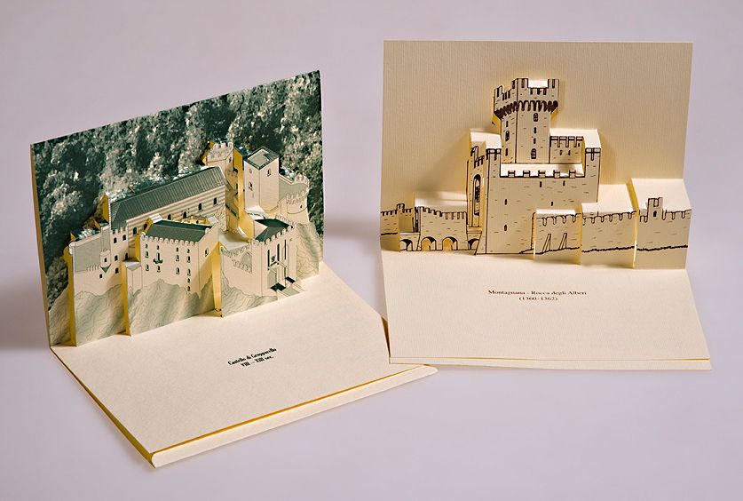 Создание макета открытки