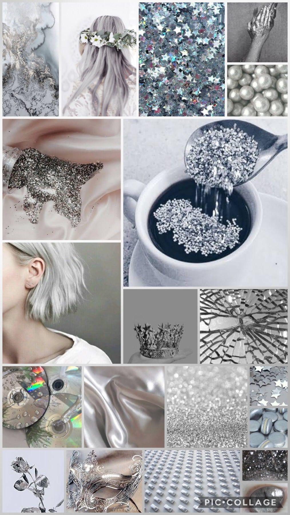 Silver Instagram Aesthetic Creative Inspiration Feminine Energy