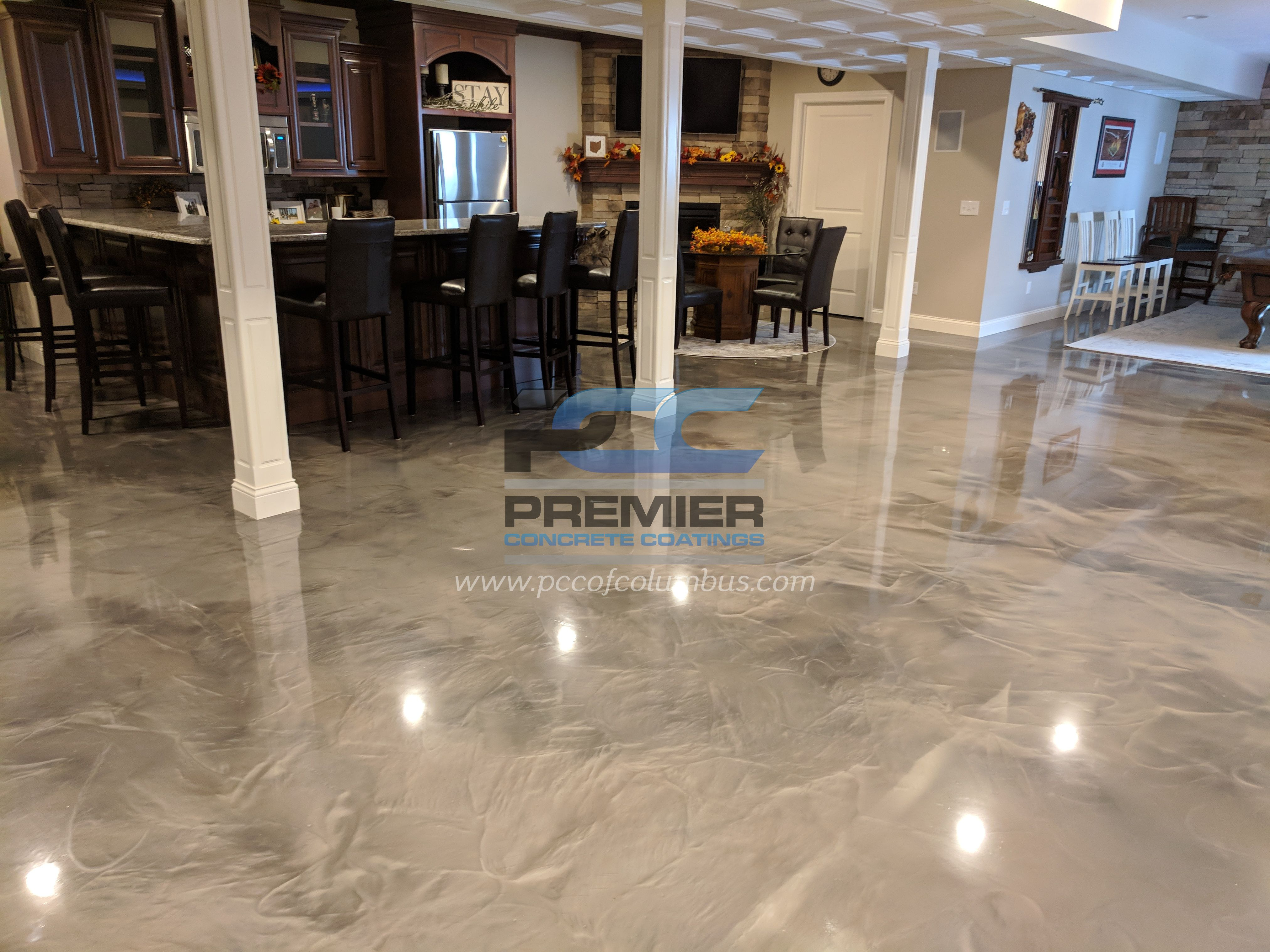 Metallic Epoxy Flooring Pcc Columbus Ohio In 2020 Epoxy Floor Flooring Epoxy