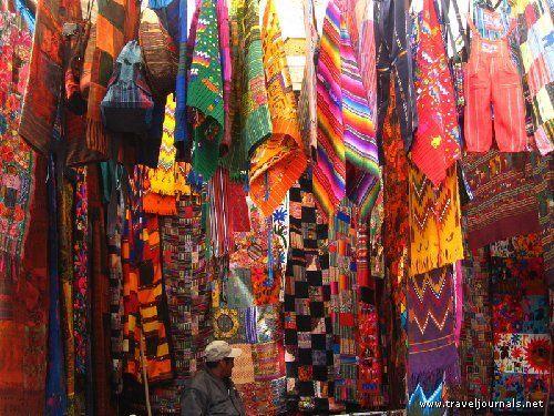 Chichi market, Chichicastenango, Guatemala