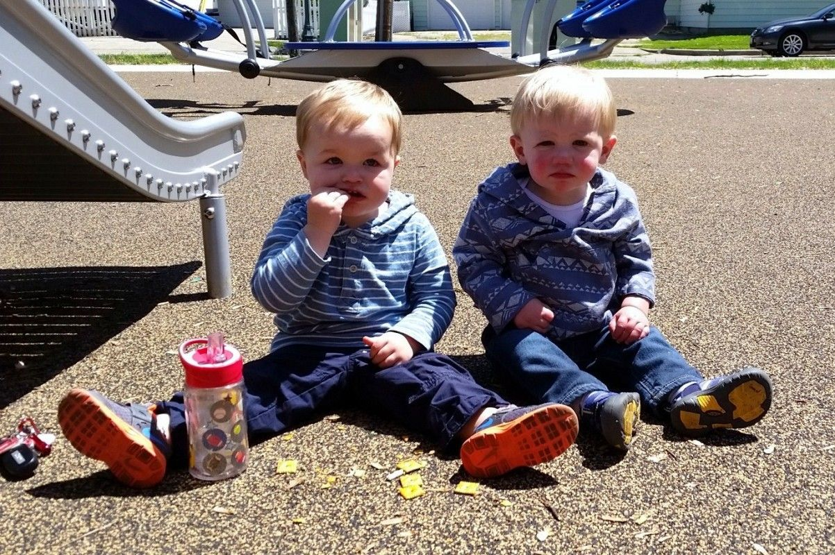 All the fun but none of the mess! Mulch-free playgrounds in Champaign-Urbana. Photo Credit: Emily Harrington.
