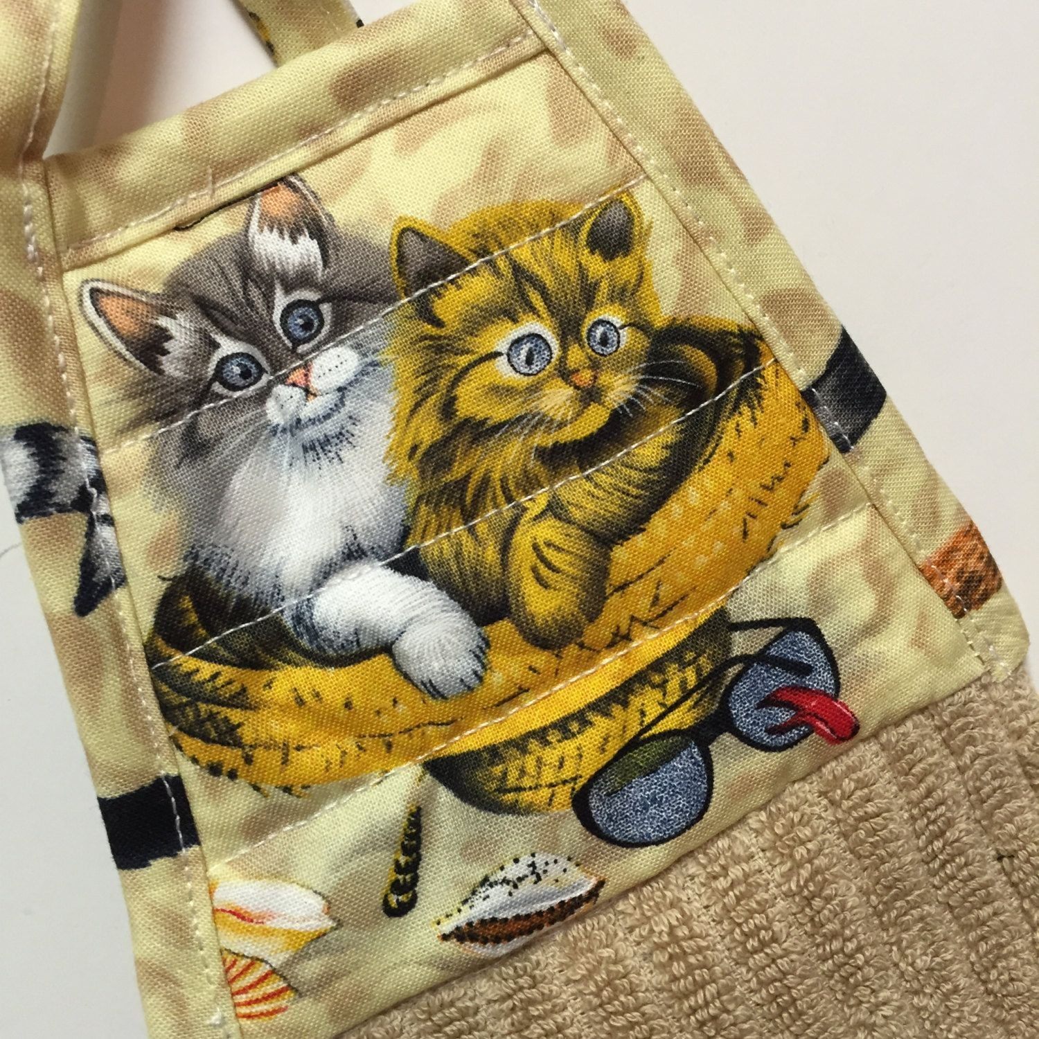 Cat Kitchen Towel,Cat Tea Towel,Cat Hand Towel,cat Decor,kitty