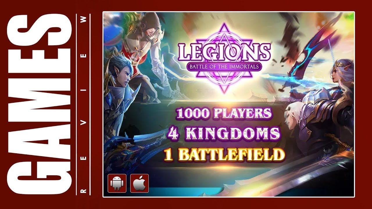 Legions Battle of the Immortals (iOS / Android) Gameplay ᴴᴰ