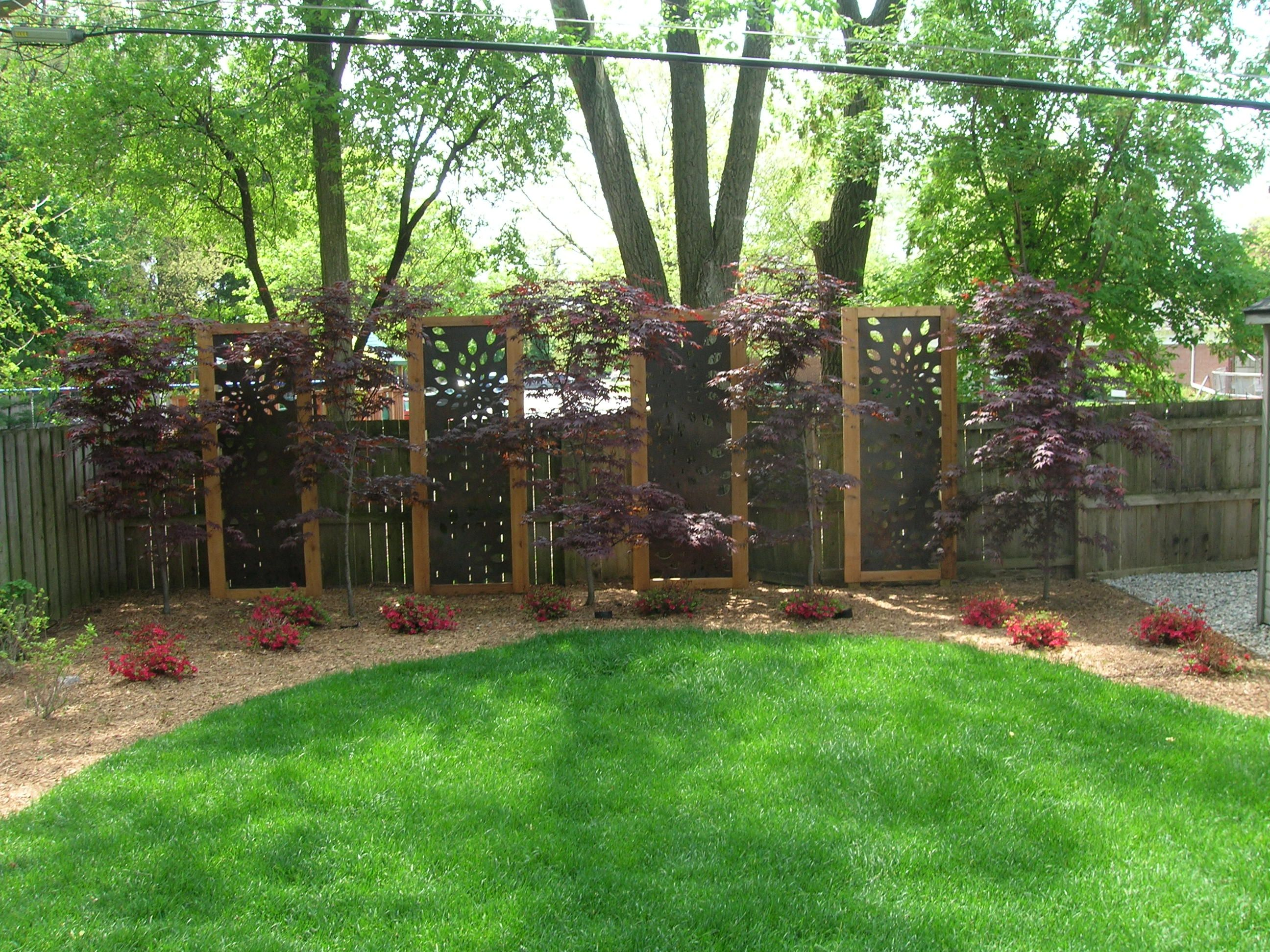Landscaping for privacy per website this privacy for Backyard screening ideas