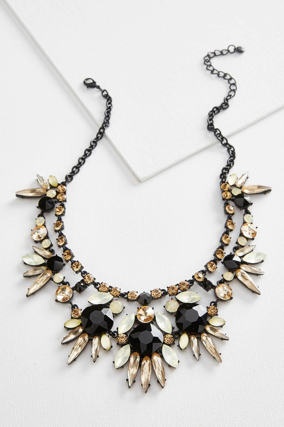 Jeweled Bib Necklace #versona #shopversona