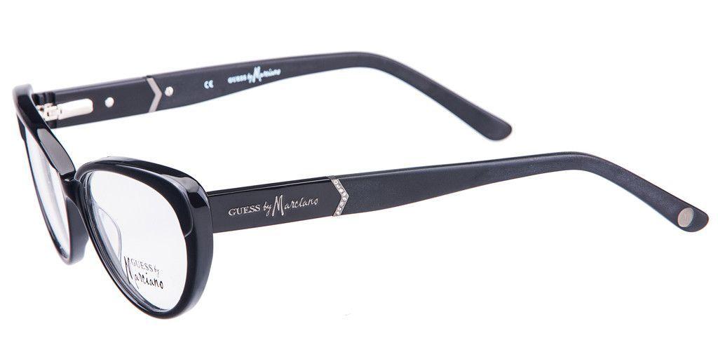 GUESS BY MARCIANO GM0219-BLKGN Black Cat Eye Eyeglass Frame | Hygge ...