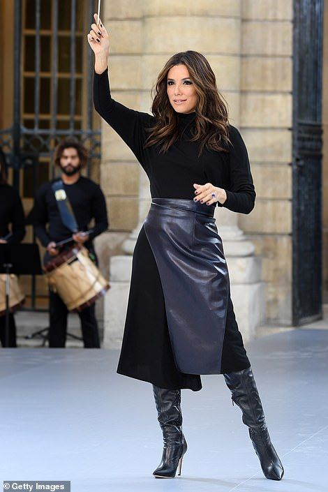Cheryl joins Eva Longoria and Geri Horner for L'Oreal show at PFW