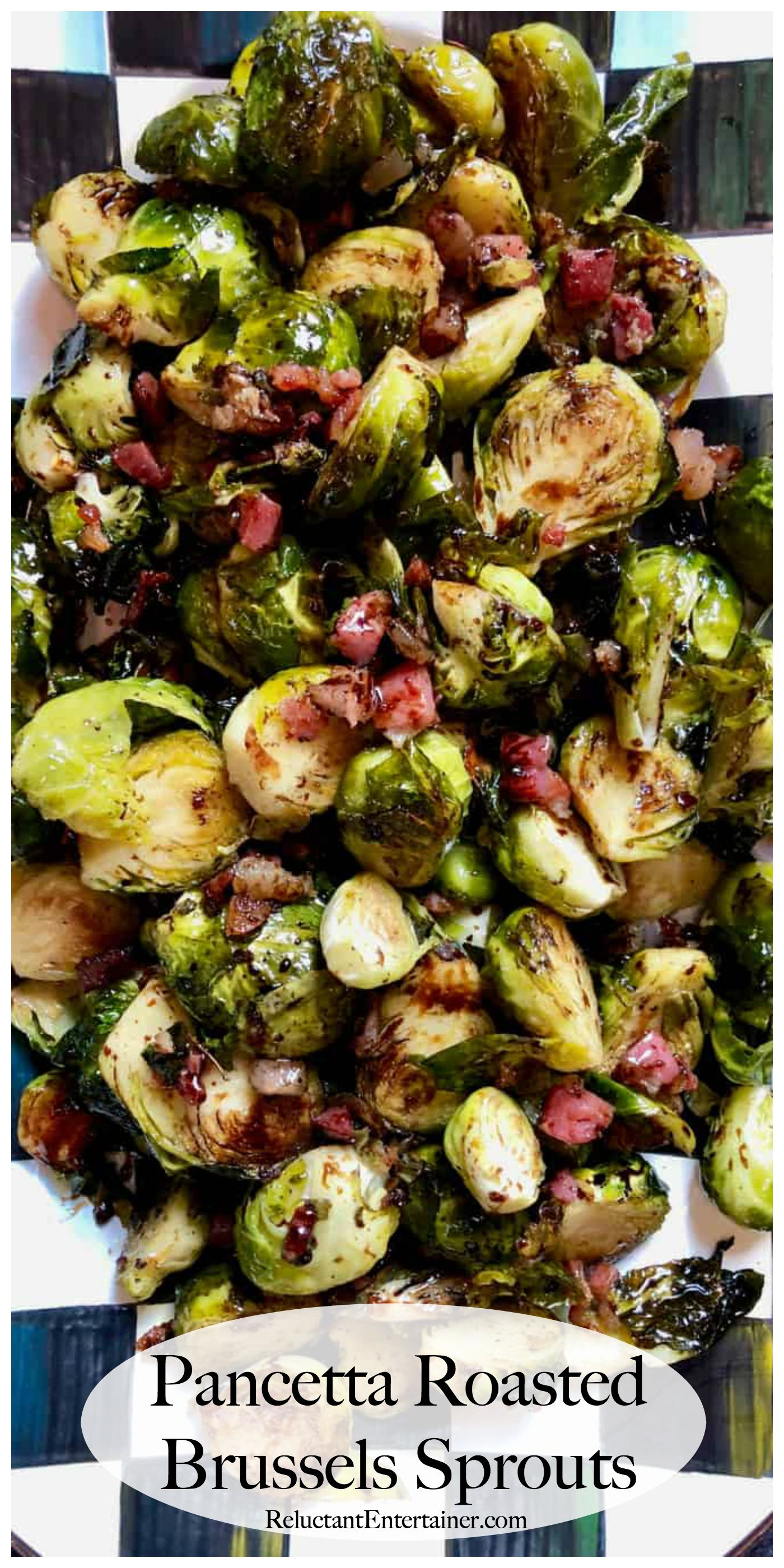 Pancetta Roasted Brussels Sprouts Are A Delicious And Healthy Side
