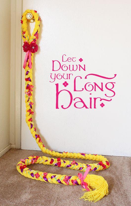 A Thousand Phases Rapunzel Hair Tutorial Rapunzel Hair Yarn Wig Rapunzel Birthday Party