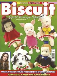 Col Arte Facil Biscuit Esp Personagens Inf 032 Arte Facil