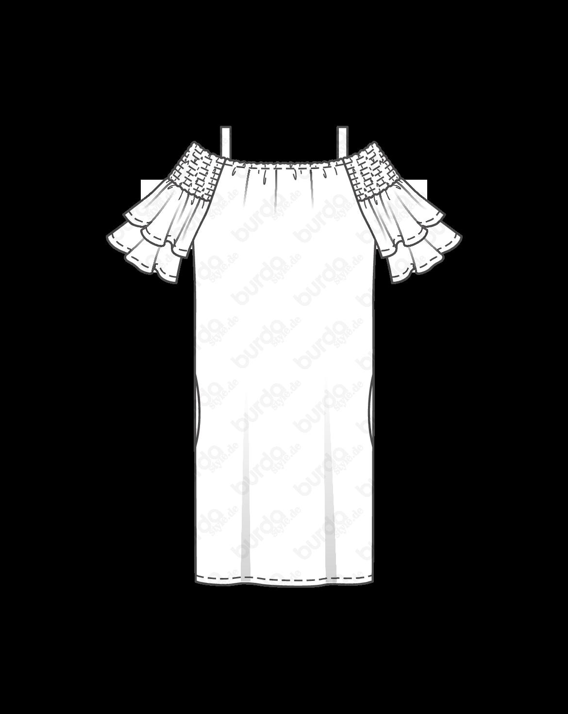 Schnittmuster Hänger-Kleid F/S 2018 #6422B   Summer   Pinterest   Summer