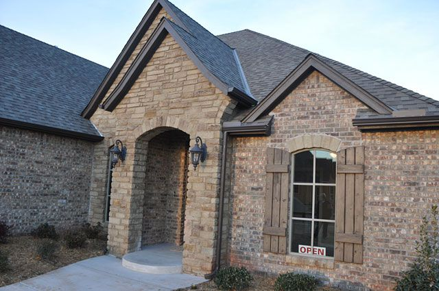 Shutters on a home for sale in Edmond, OK