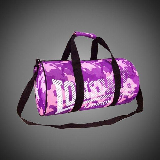 348dc1a462 Sportovní taška Lonsdale Barrel Camo. Popruh na rameno připínatelný k  tašce. Dva klasické popruhy pro snadné uchopení. Vrchní část rozepínatelná  zipem.