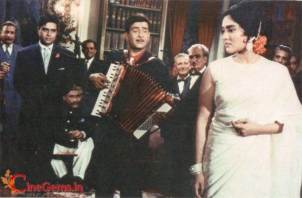 "Rajendra Kumar, Raj Kapoor and Vyjayanthimala in ""Sangam"" (1964)"