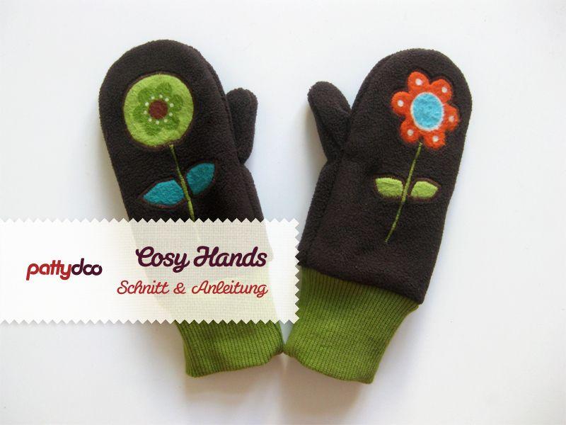 Warme Händchen | Pinterest | Kinderhandschuhe, Nähanleitung und ...