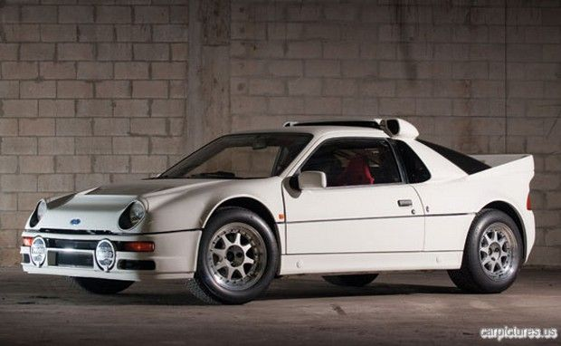 1986 Ford Rs200 Evolution 420hp Dohc Turbo Homologation Rally Car