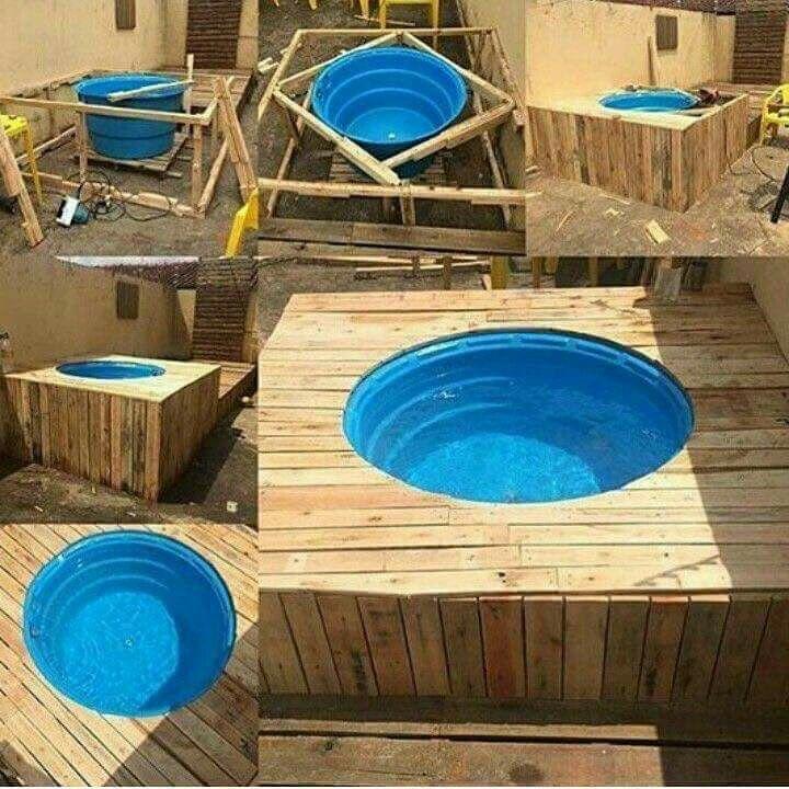 Banheira de caixa d água | Casa/Decoração | Pinterest