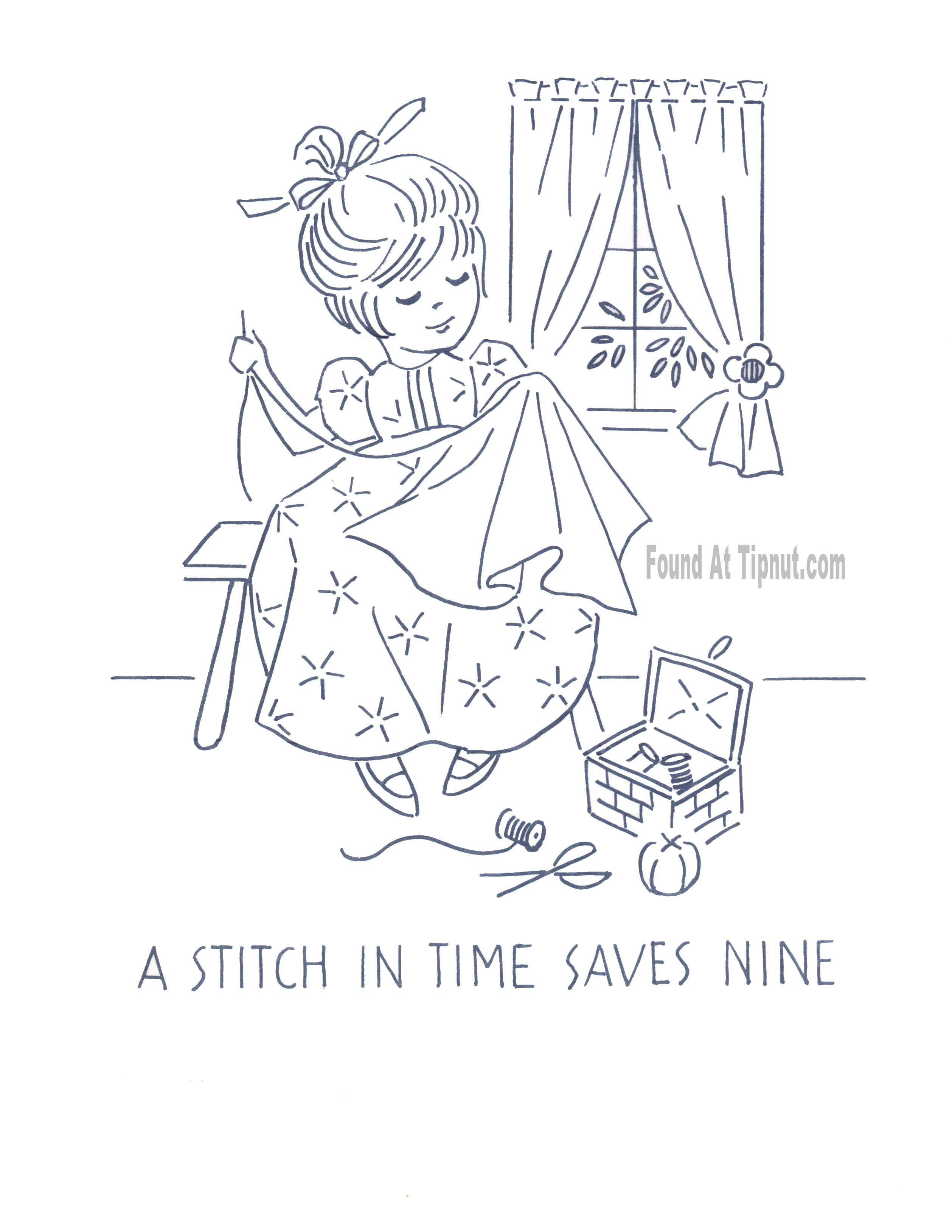 Kitchen Proverbs Embroidery Patterns – Complete Set : TipNut.com ...