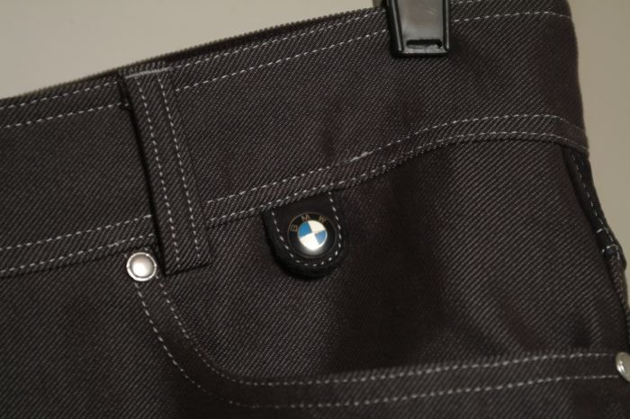bmw black denim kevlar jeans
