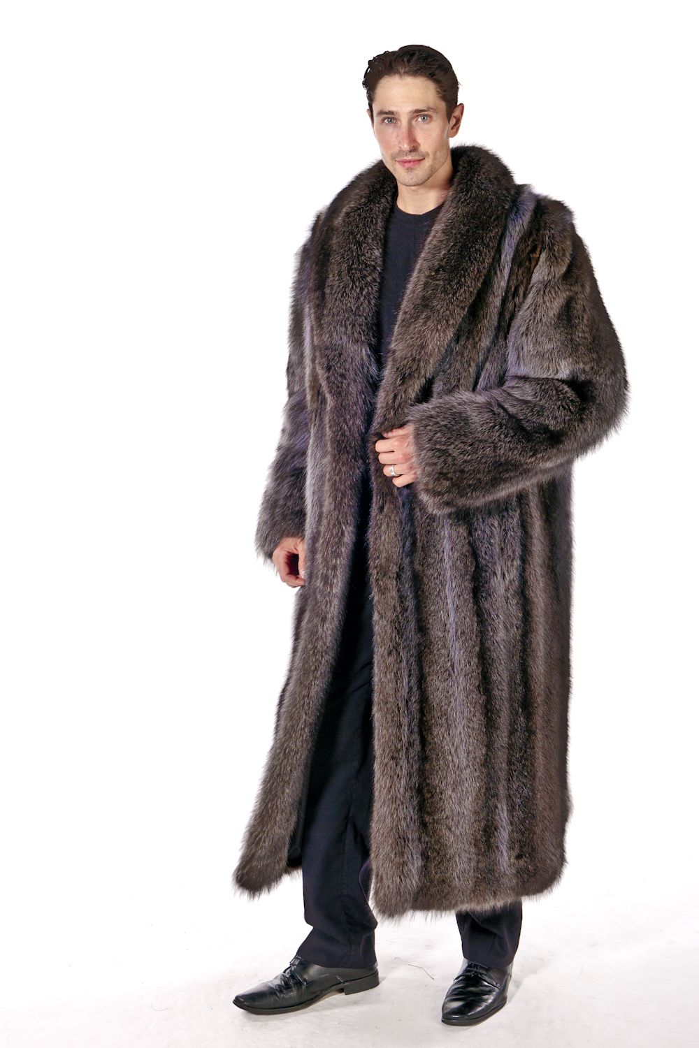 1000  images about Menswear on Pinterest | Mens fur coats Coyotes