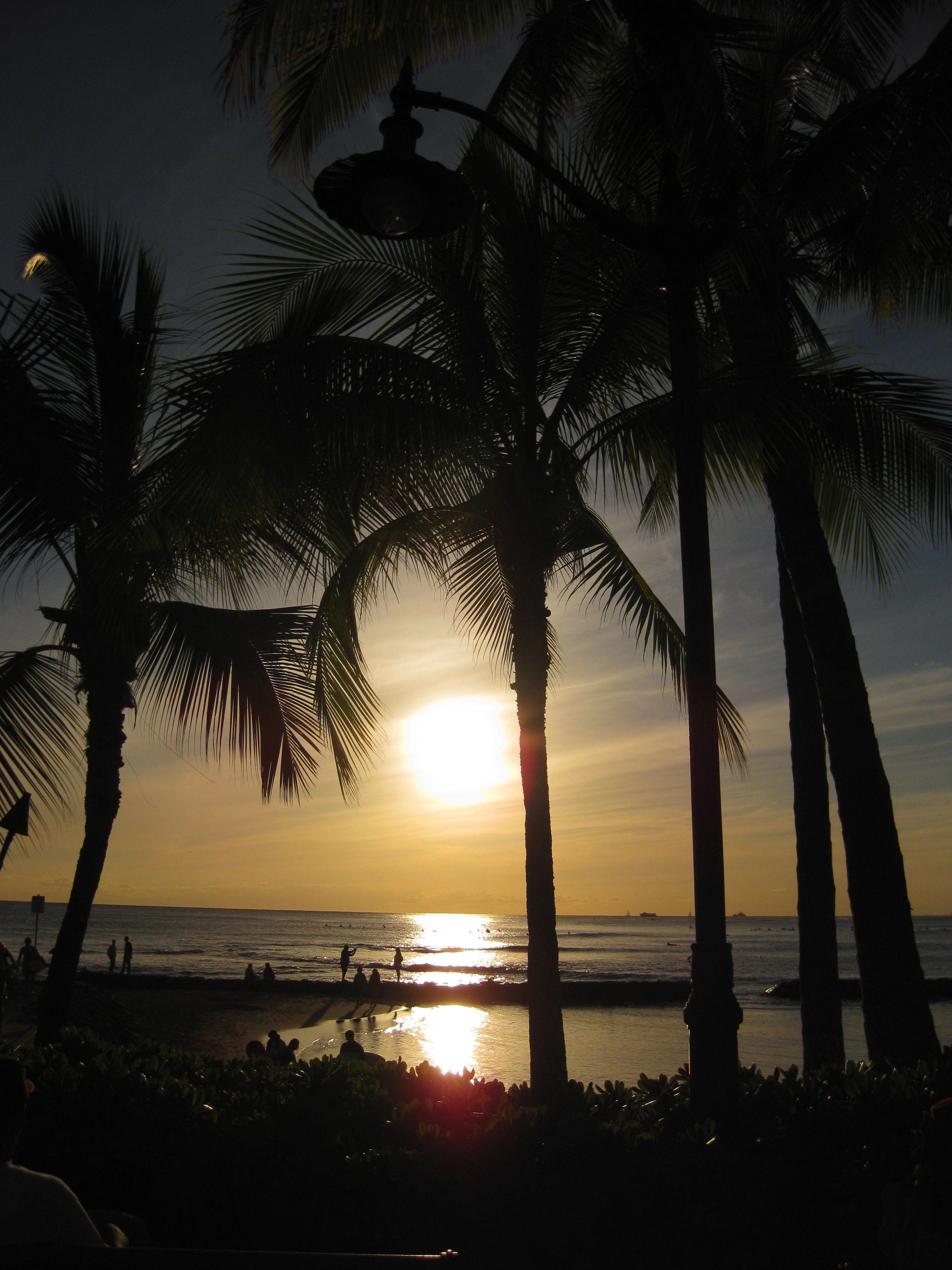 Waikiki Sunset - Oahu - Hawaii