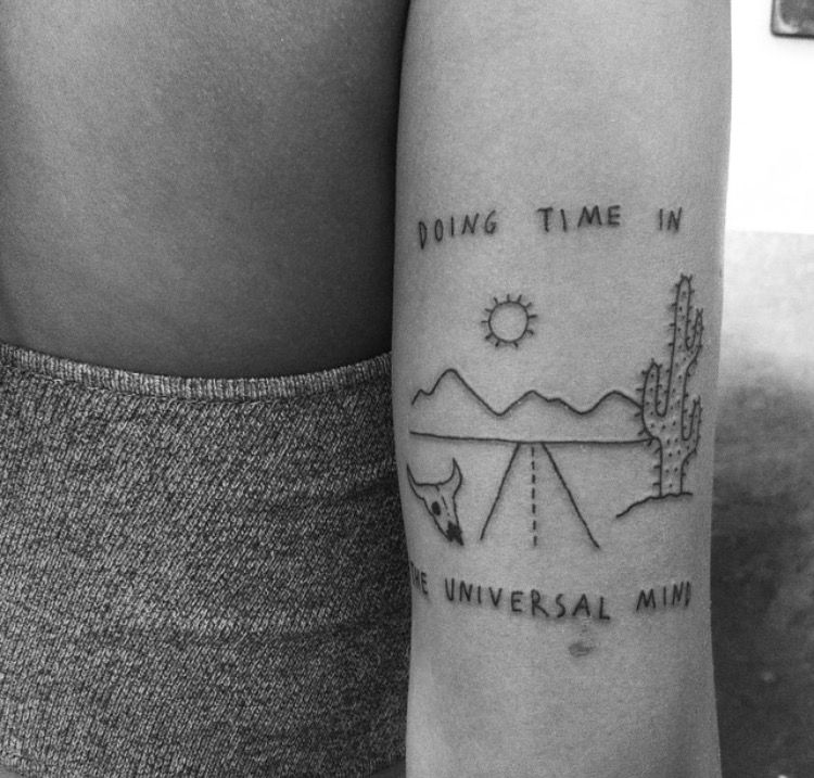 Doing time in the universal mind tattoos inspirational