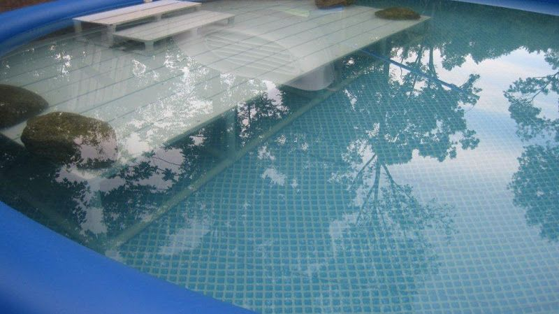 Shallow End For Above Ground Pool Pool Pinterest Ground Pools Shallow And Backyard