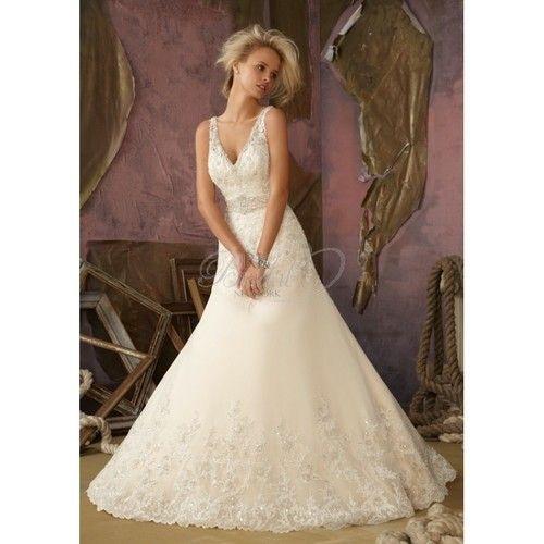 Mori Lee Bridal Fall 2012  - Style 1867 - Elegant Wedding Dresses Charming Gowns 2017 Demure Prom Dresses http://ift.tt/2trhSGI #wedding
