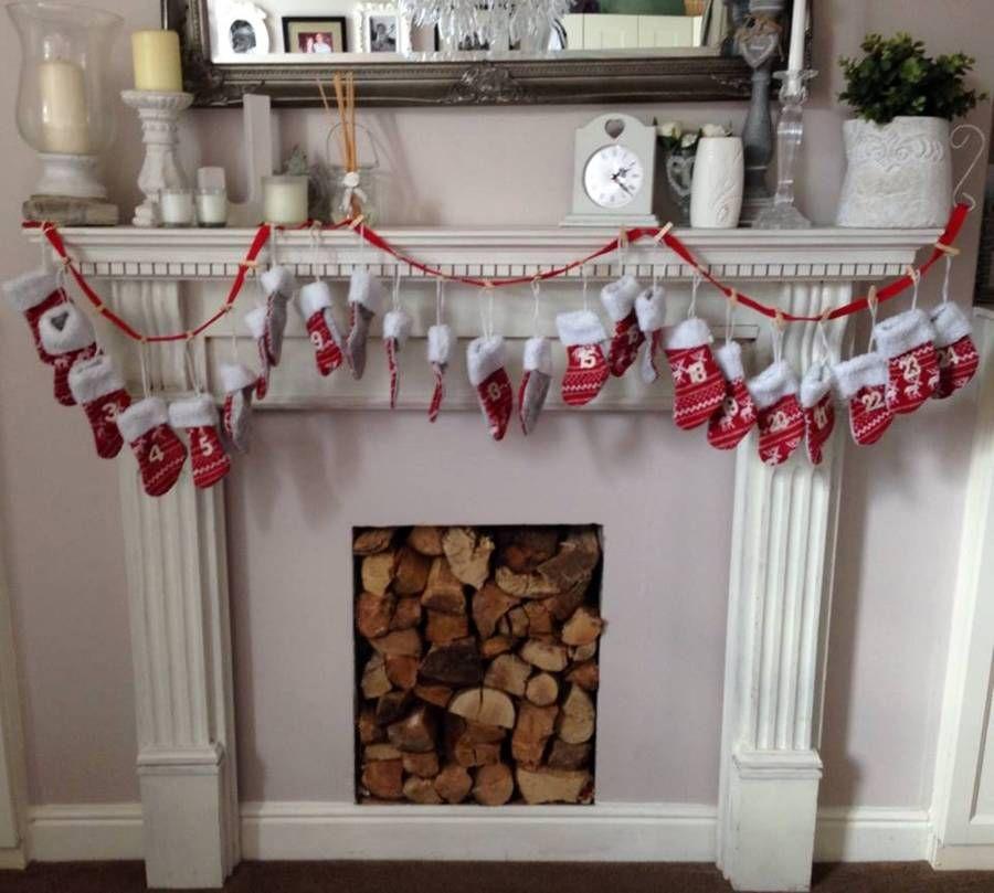 Stocking Christmas Advent Bunting Garland   Christmas advent, Christmas stockings, Bunting garland