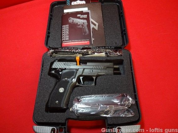 Sig Sauer P226 9mm Legion SAO LAYAWAY! NEW! : Semi Auto Pistols at GunBroker.com