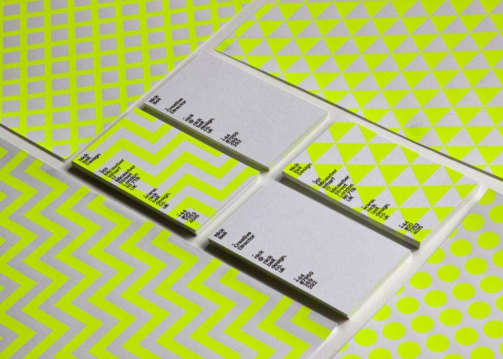 Nick Bell Design Stationery Printing Business Card Design