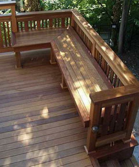 Glorieta de madera de 3 lados | casas pequeñas | Pinterest ...