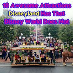 10 Awesome Attractions Disneyland Has That Disney World Does Not