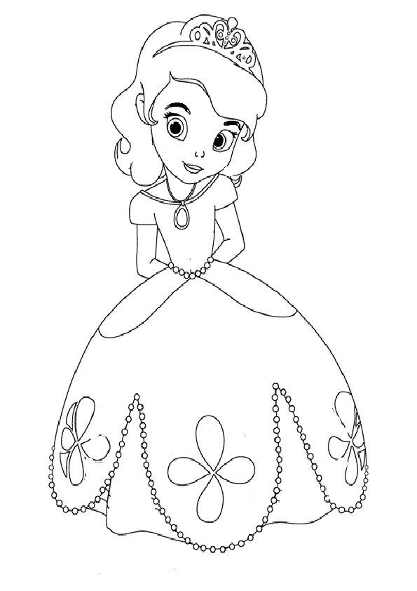 Prinzessinnen Malvorlagen Prinzessin Malvorlagen Kostenlos Zum Ausdrucken Ausmalbilder Buku Mewarnai Halaman Mewarnai Drawing