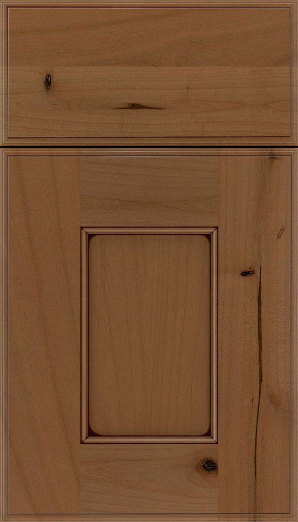 Berkeley maple flat panel cabinet door in ginger with for Kitchen cabinets berkeley