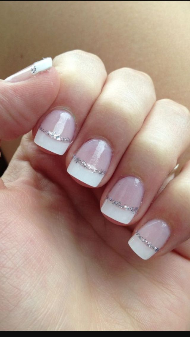 French shimmer | French tip | Pinterest | Make up, Hair cuts and ...