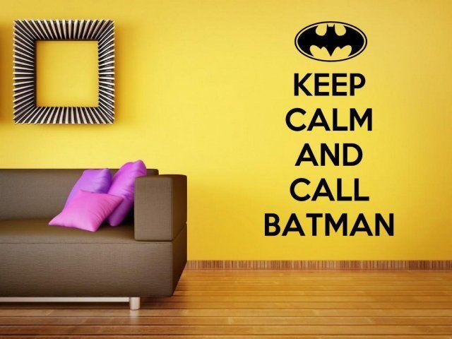 Keep Calm Sayings for Adults | Keep Calm And Call Batman - Funny ...