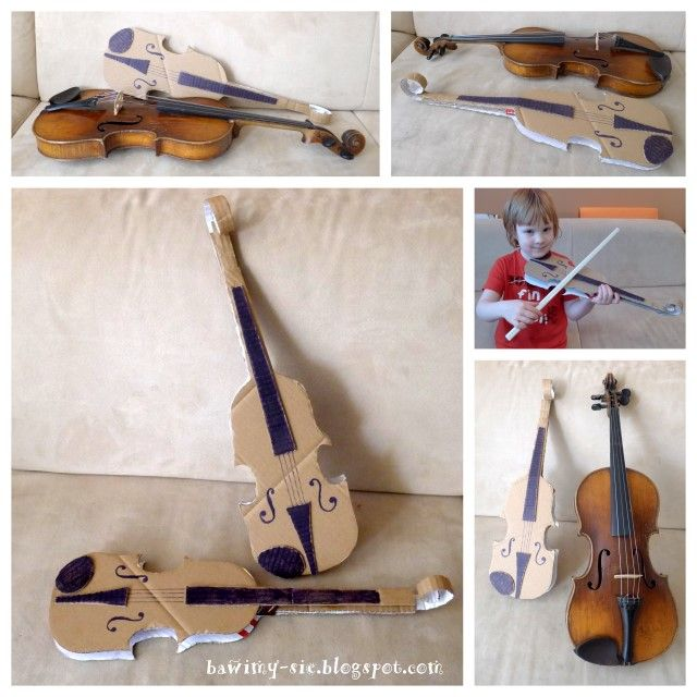 My first violin make a cardboard violin free template at my first violin make a cardboard violin free template at fiddleheads music pinterest template free and music education ccuart Image collections