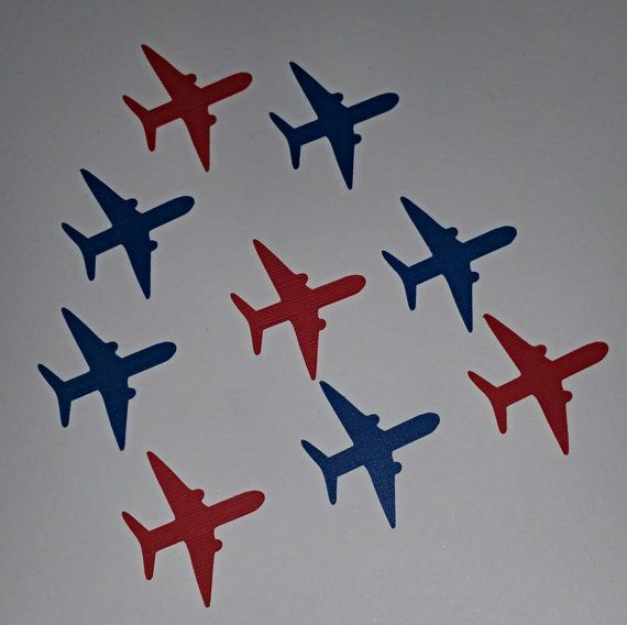 These adorable airplane confetti are great for any occasion they will make your party shine. What better way to dress up your baby shower,