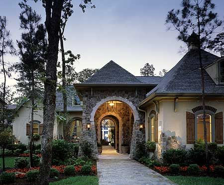 Plan 40444DB: Exceptional French Country Manor | Leaves, Couples and ...