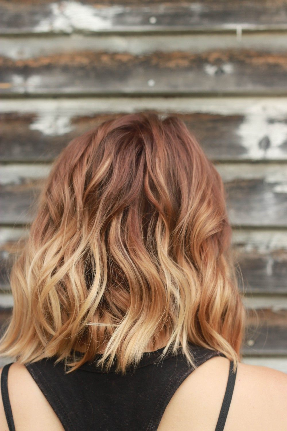 Kenra demi color with 9vol 6RC root melt into 7BC melt