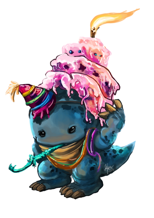 Image result for GW2 Happy Birthday