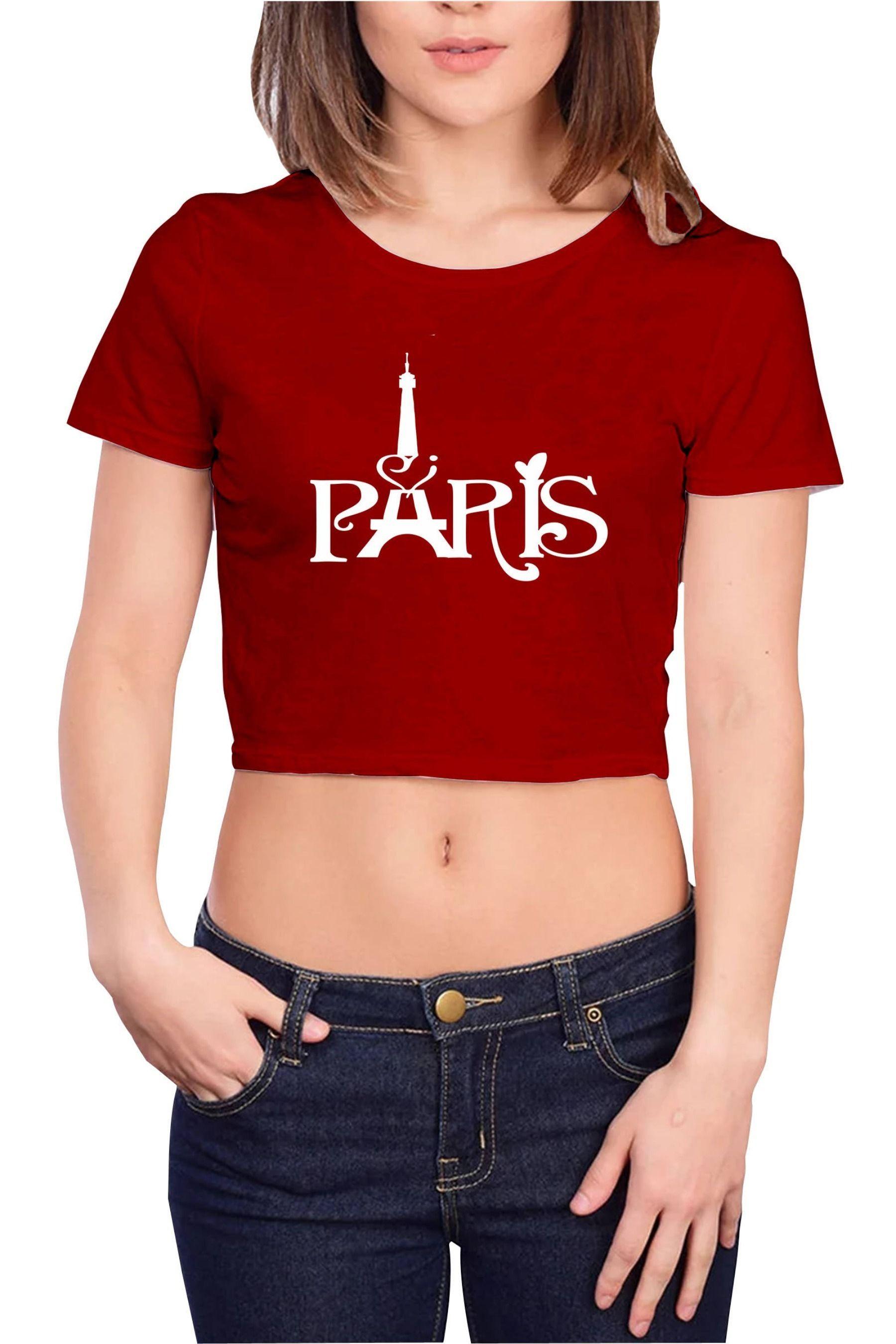 bea468e93fd women western wear tops tees shirts buy now  shopping  fashion  online   tees  top  womenfashion  red  white  india  men