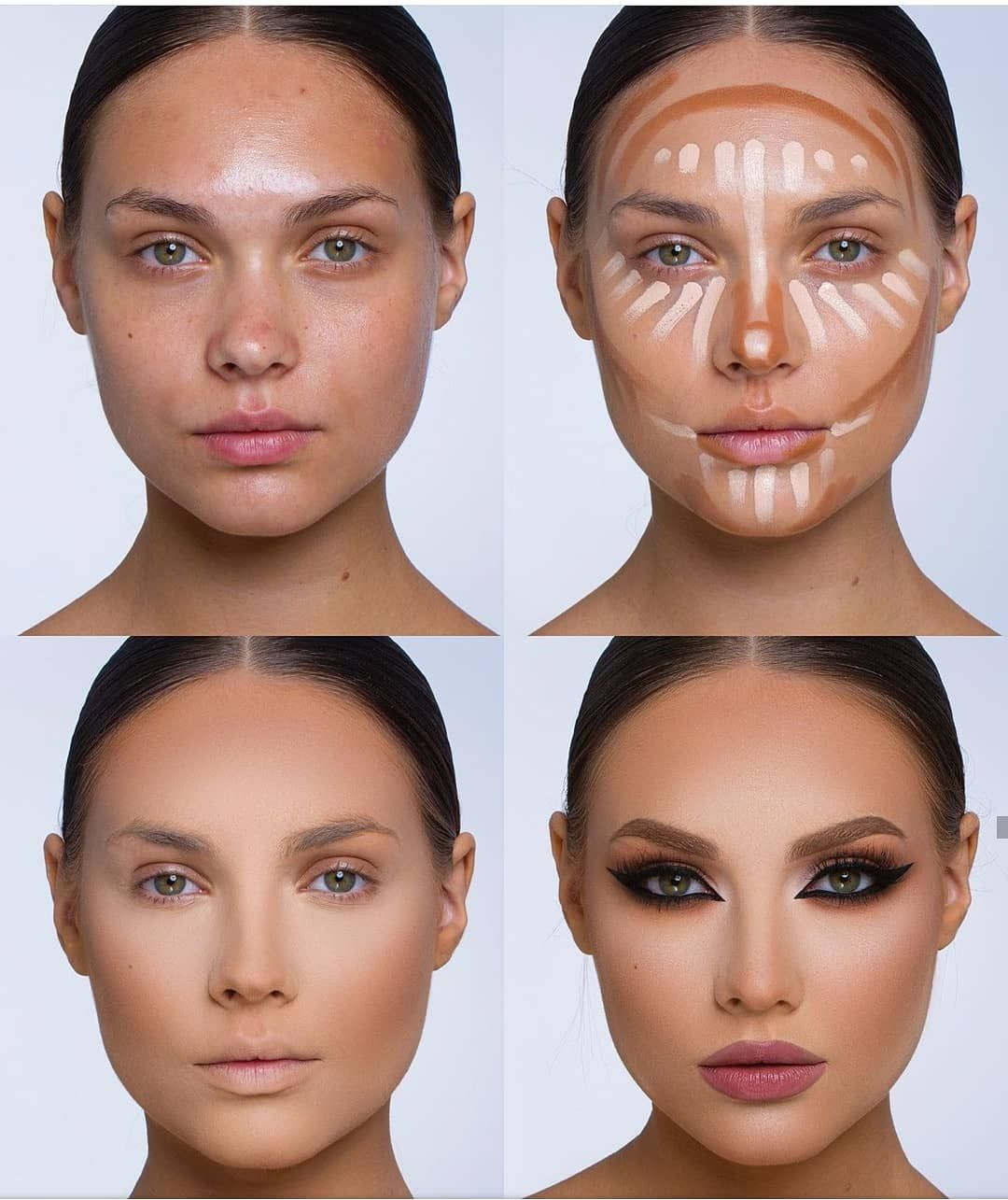 "⭐Mama_mua2⭐ on Instagram: ""Gorgeous 😍 By @samerkhouzami @mama_mua2 #mamamuatag . . . . . .  #brian_champagne #makeuptutorialsx0x #wakeupandmakeup #hudabeauty…"""