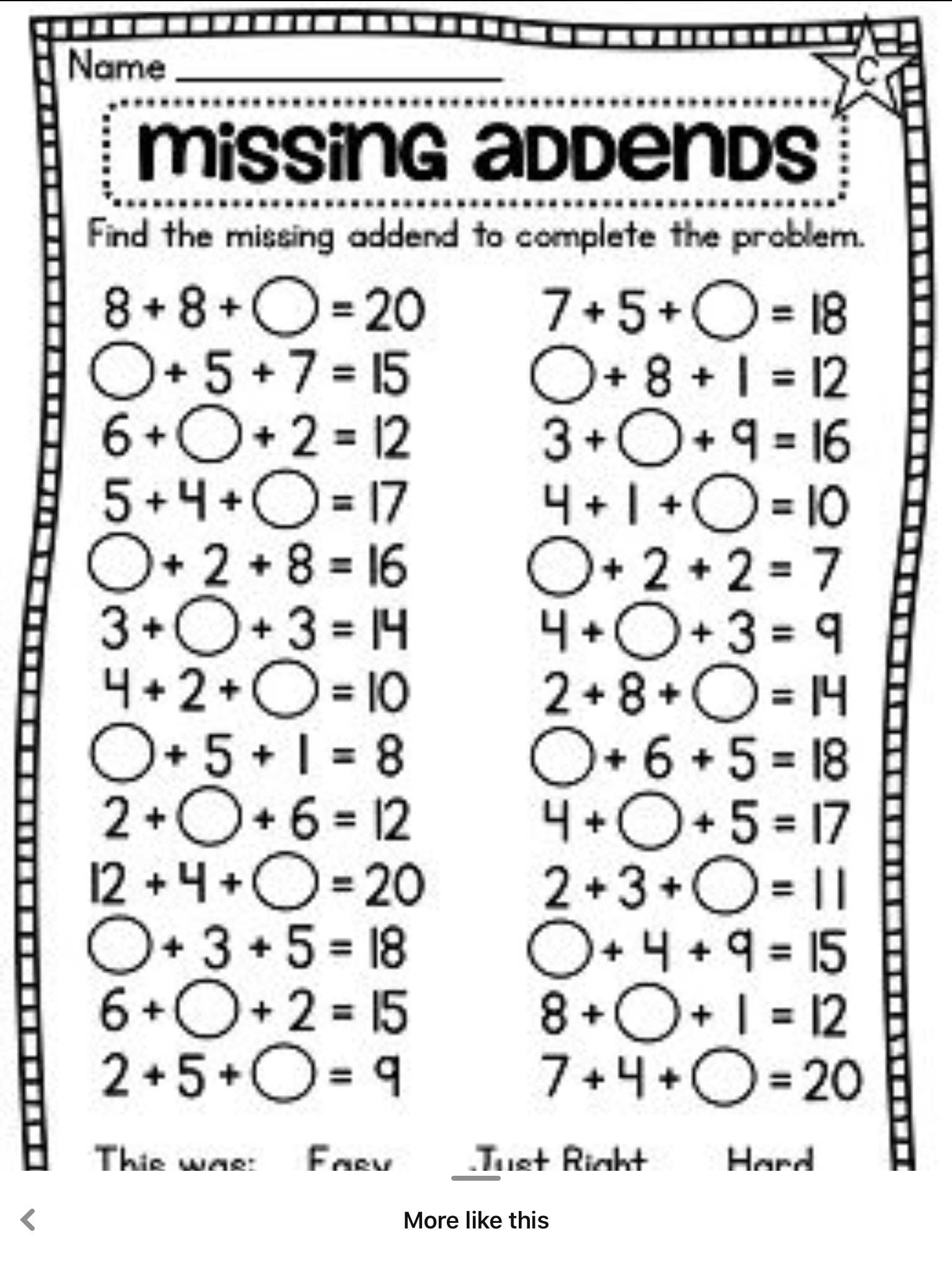 Pin By Freda Pittard On First Grade Math In