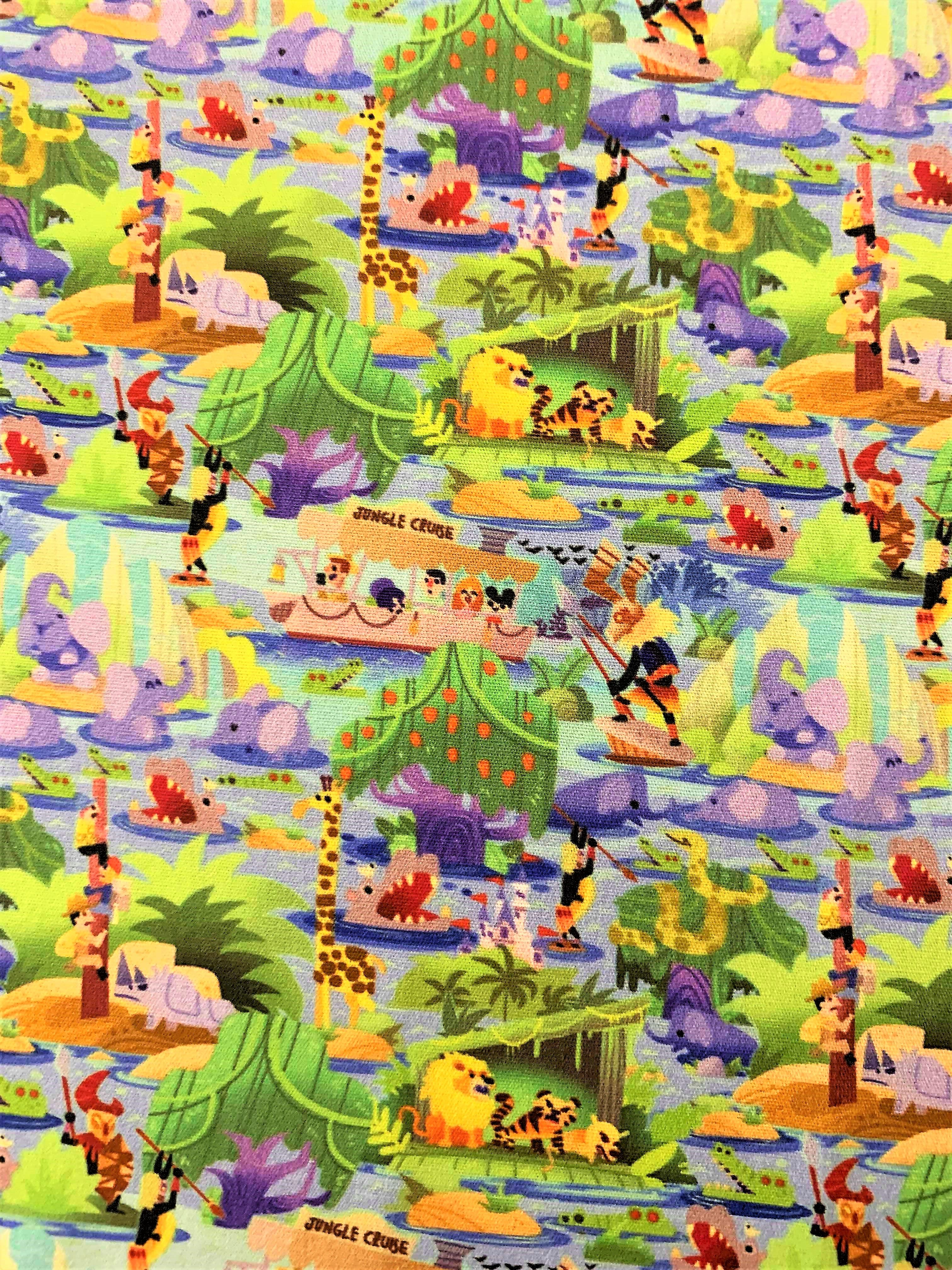 Jungle Cruise Disney Wallpaper Disney Fabric Disneyland Art Wallpaper Digital Wallpaper Disney Wallpaper